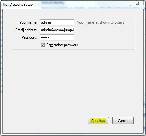 Настройка на мейл акаунти с mozilla thunderbird
